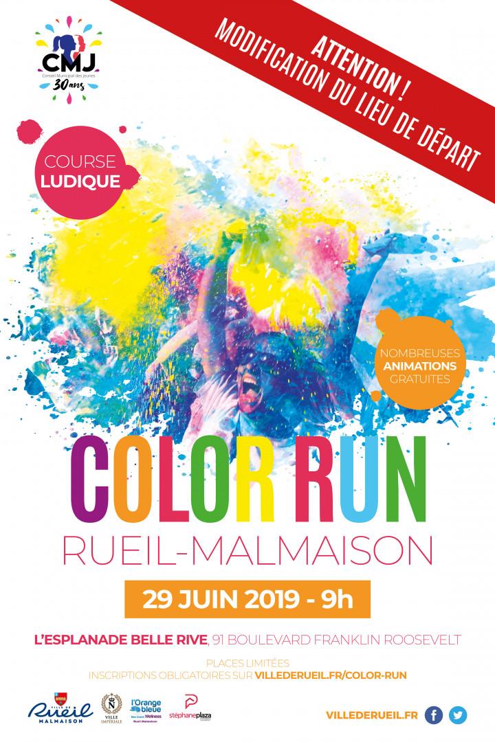 Affiche Color run