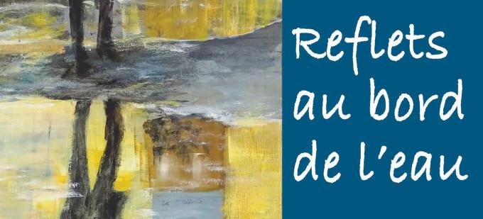 affiche de l'exposition de Laurence Izard